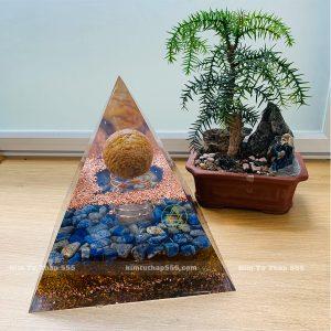 kim tự tháp đá phong thủy